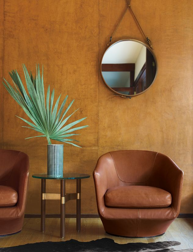 Adnet Circular Mirror Alveena Casa