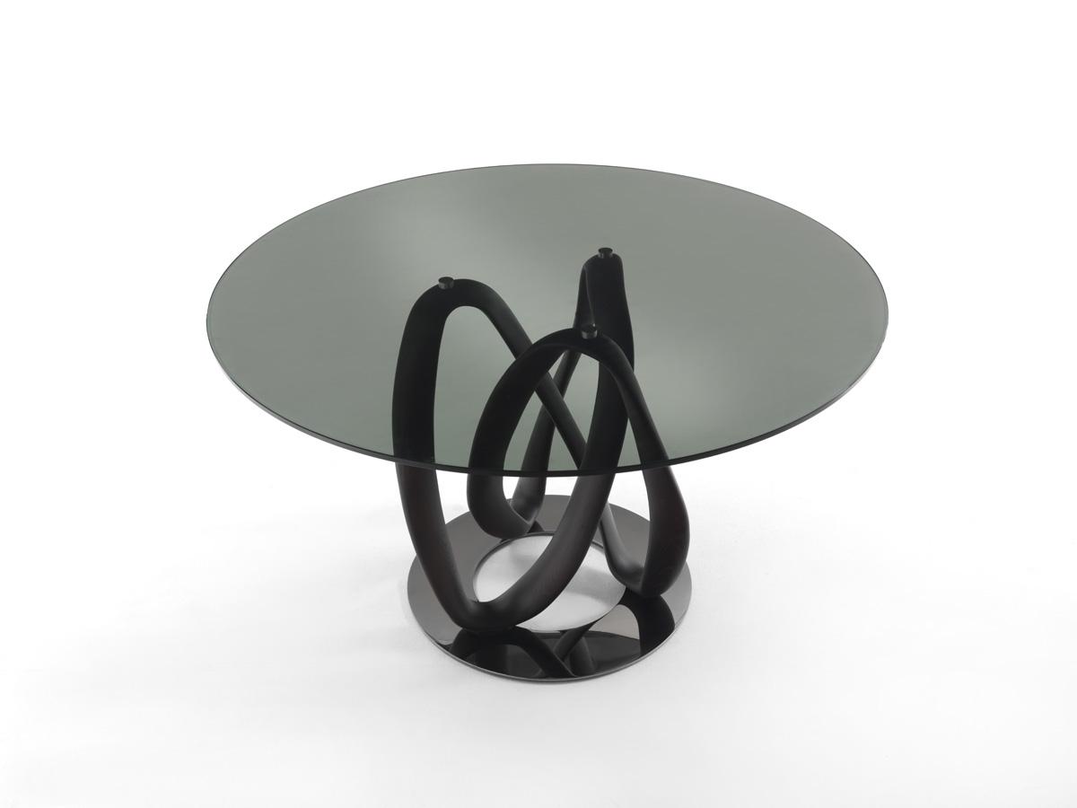 Porada. Infinity Glass Dining Table