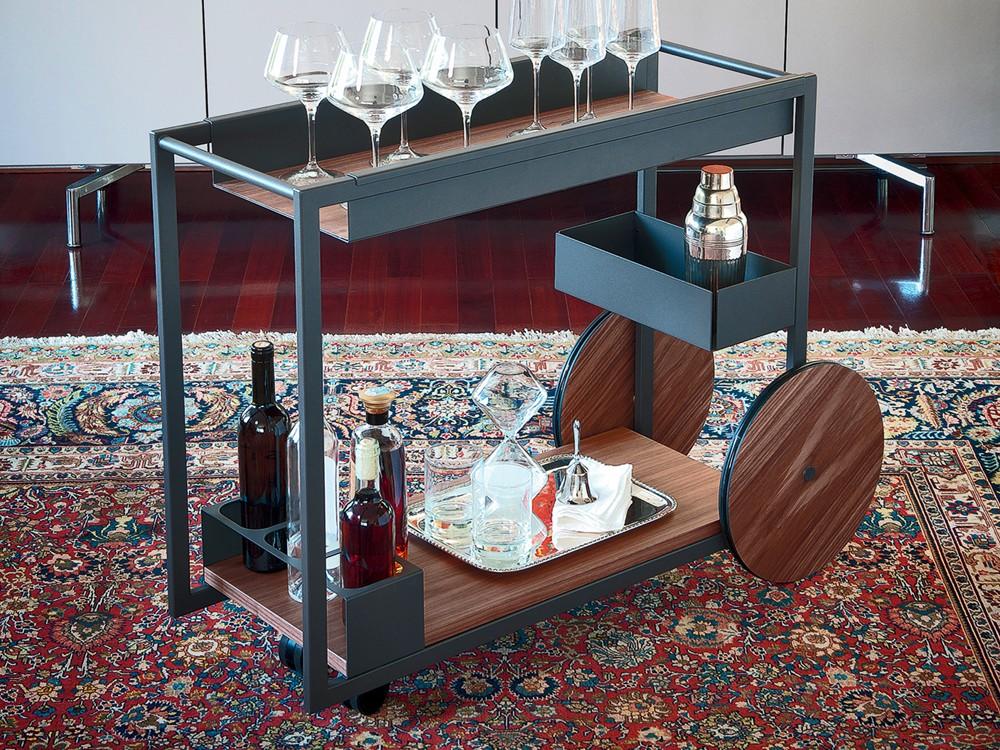 Brandy Bar Trolley Alveena Casa