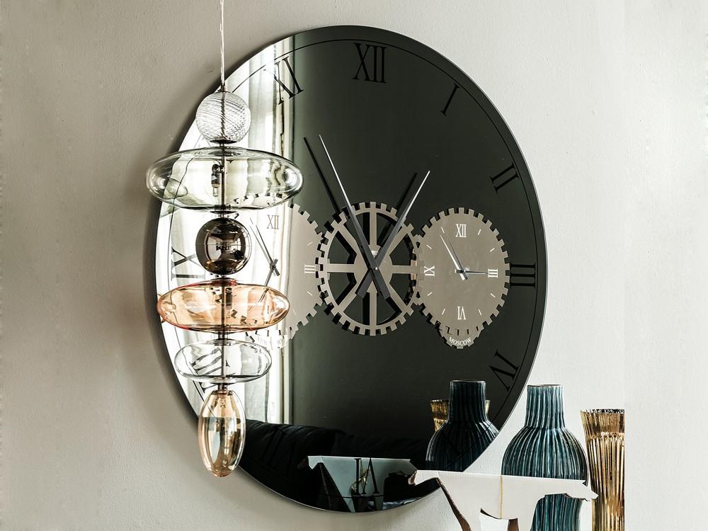 Times Mirror Clock Alveena Casa