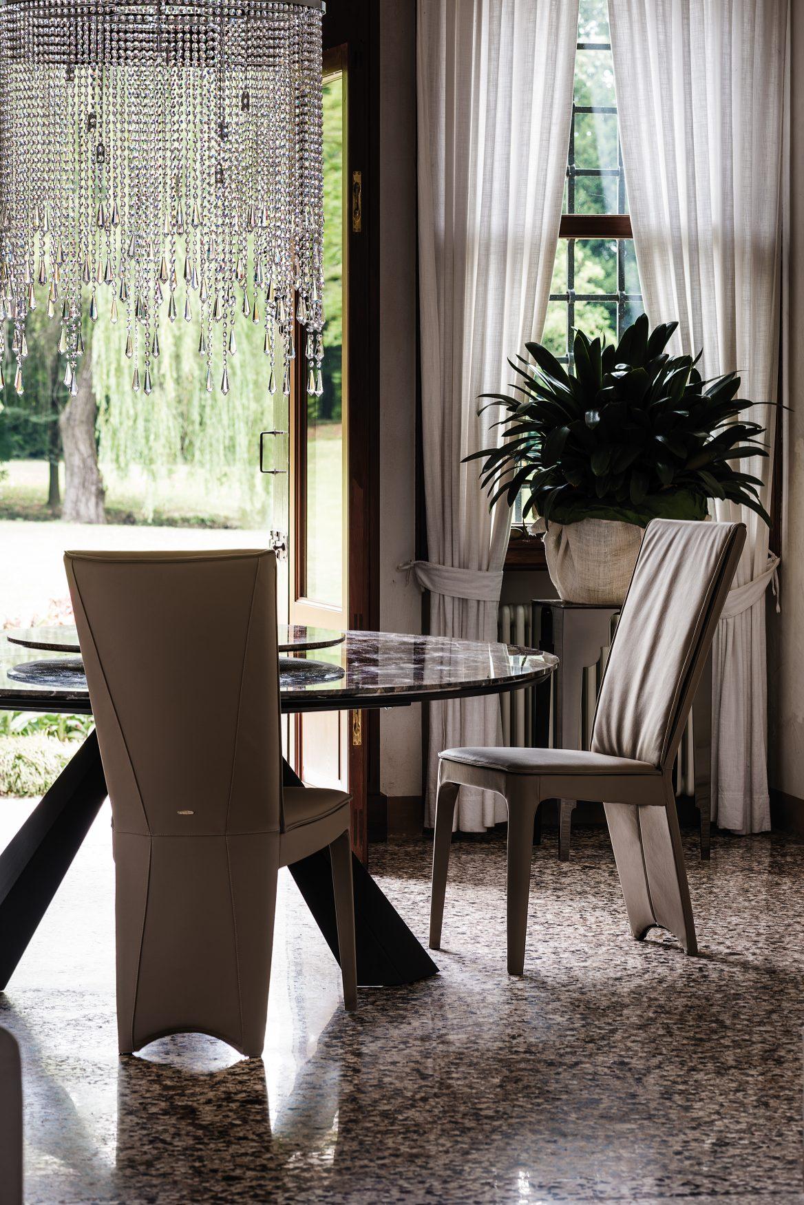 Eliot round dining table dining tables dining cattelan italia - Eliot Keramik Round Alveena Casa